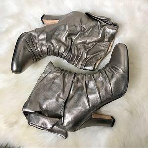 Metallic Booties - Aldo size 36